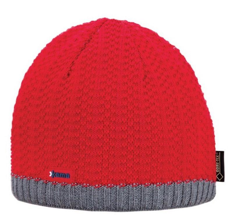 Čepice Kama AG18 104 Gore-tex červená