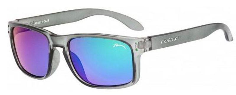 Dětské sluneční brýle RELAX Melite šedé R3067B