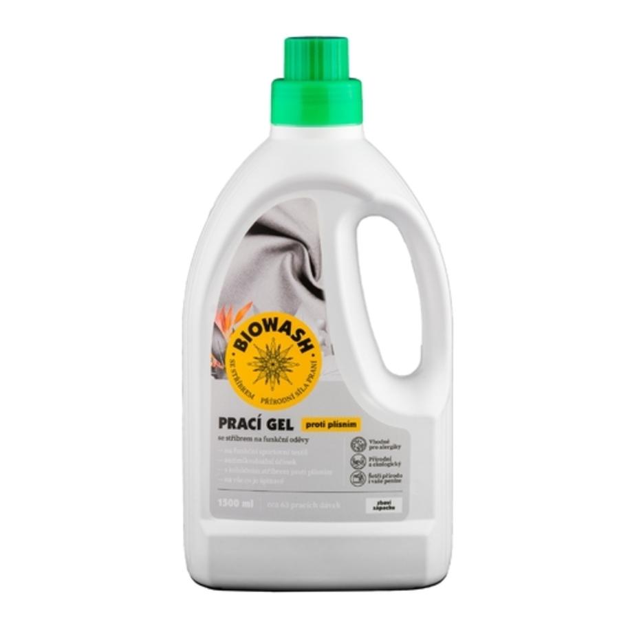 Biowash Gel stříbro 1,5 l