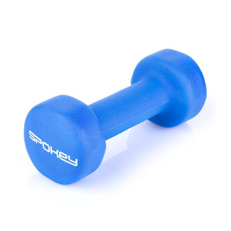 Sada činek Spokey SHAPE IV 2x2 kg modré