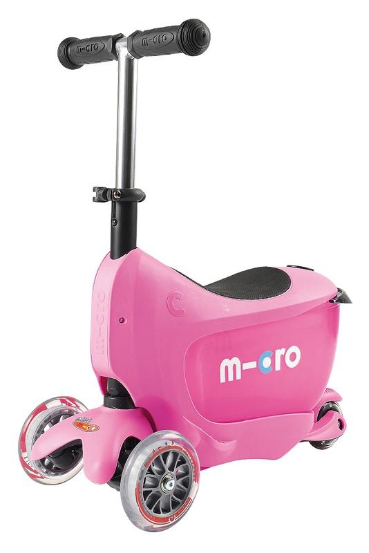 Koloběžka Micro Mini2go - růžová