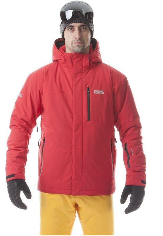 Pánská lyžařská bunda Nordblanc NBWJM5804 červená