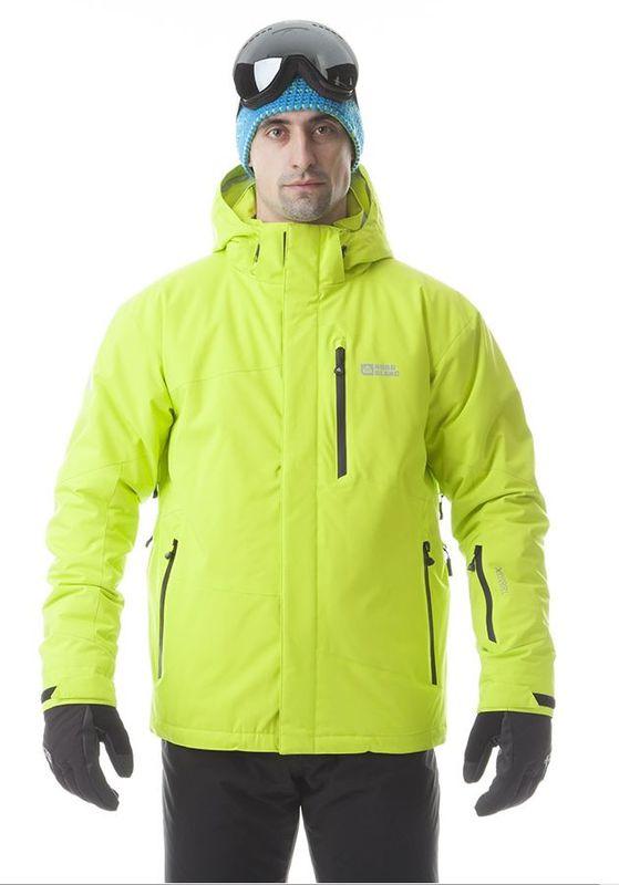Pánská lyžařská bunda Nordblanc NBWJM5804 razící žlutá