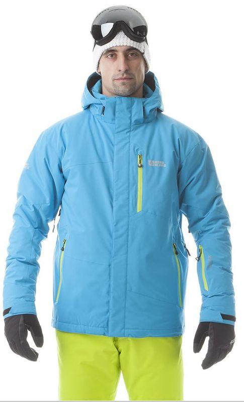 Pánská lyžařská bunda Nordblanc NBWJM5804 světle modrá