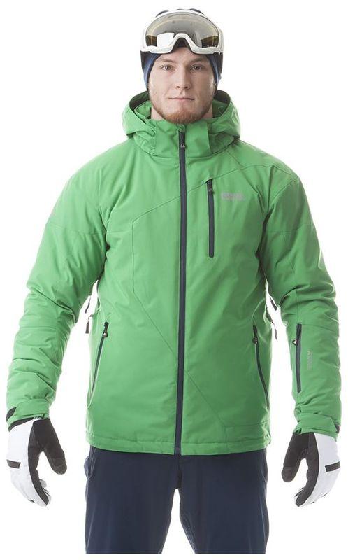 Pánská lyžařská bunda Nordblanc NBWJM5805 zelená