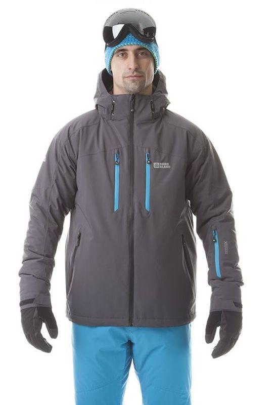 Pánská lyžařská bunda Nordblanc NBWJM5806 šedá