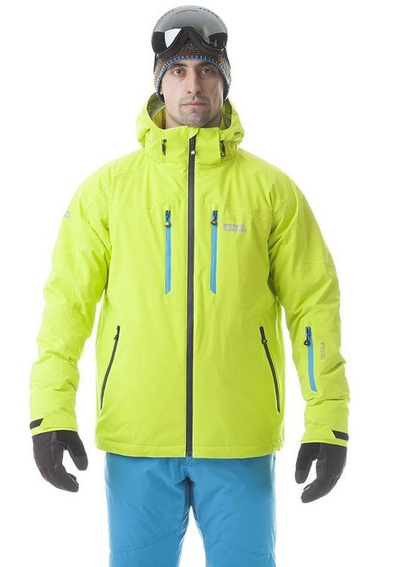 Pánská lyžařská bunda Nordblanc NBWJM5806 razící žlutá
