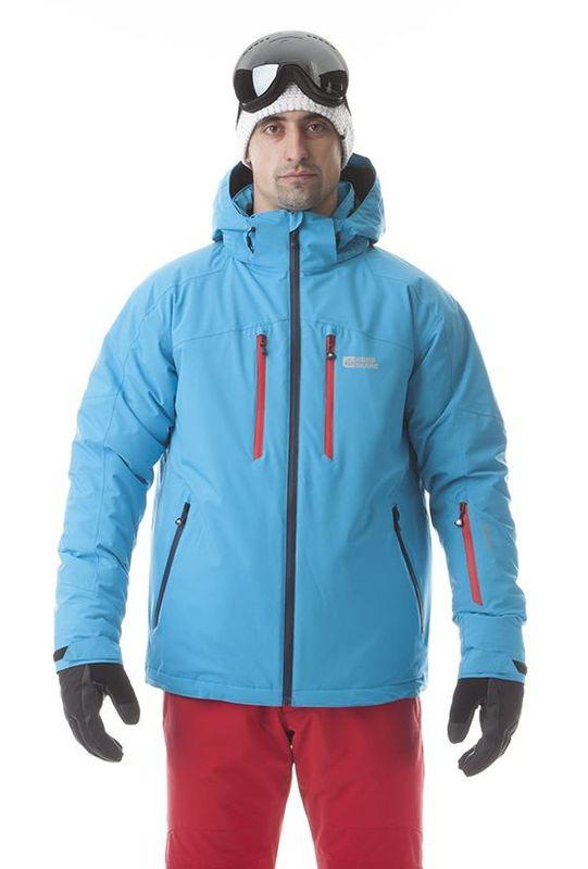 Pánská lyžařská bunda Nordblanc NBWJM5806 světle modrá