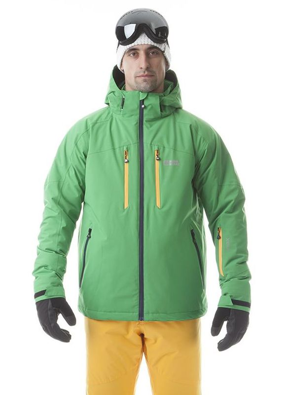 Pánská lyžařská bunda Nordblanc NBWJM5806 zelená