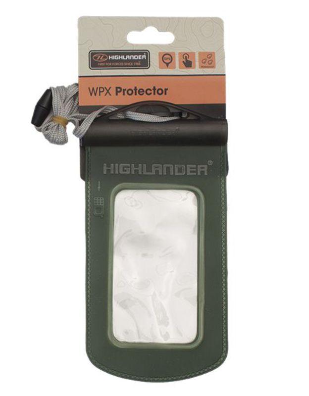 Pouzdro na krk Highlander WPS Protector zelené