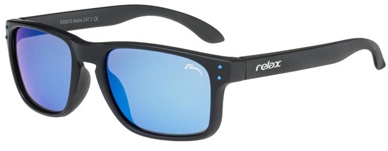 Dětské sluneční brýle RELAX Melite bílé R3067D