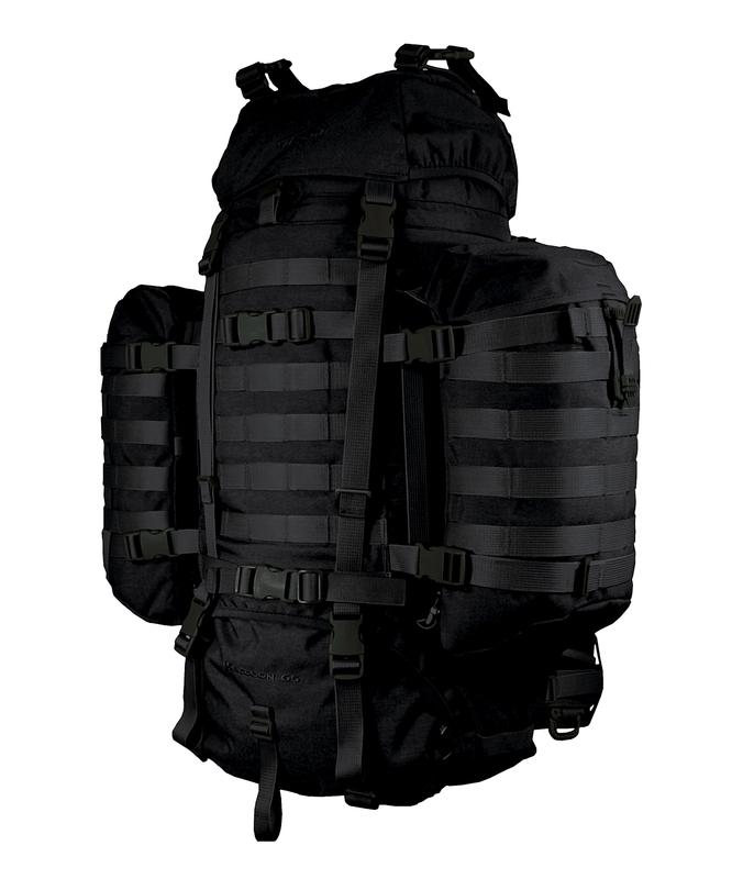 Batoh Wisport® Raccoon 65l - černý