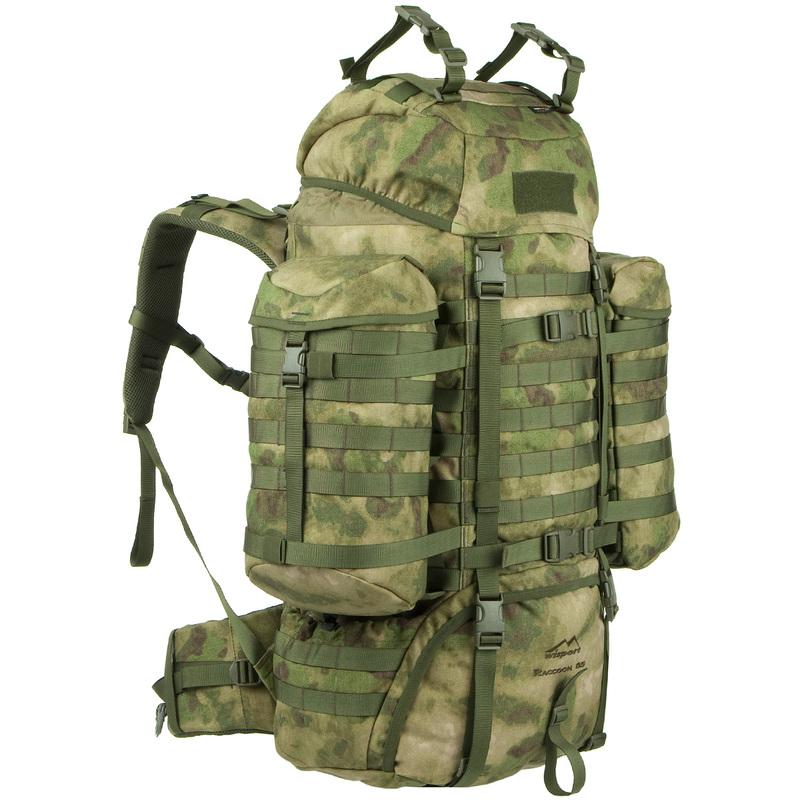 Batoh Wisport® Raccoon 65l - A-TACS FG