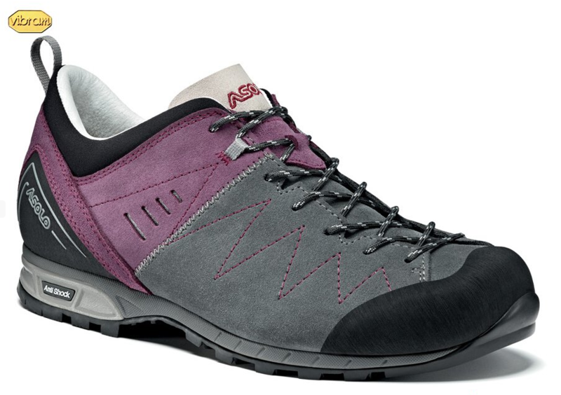 Boty ASOLO Track Grey/Grapeade A643 6,5 UK