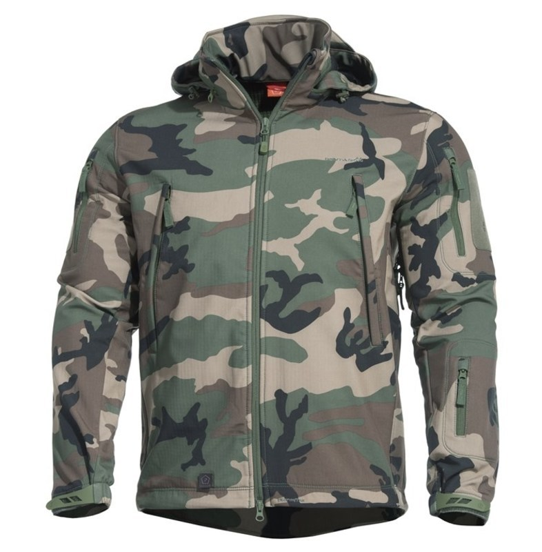 Bunda PENTAGON® ARTAXES SF Level IV US woodland S