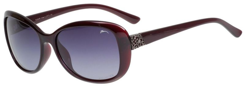 Sluneční brýle RELAX Leila tmavě vínové R0298E