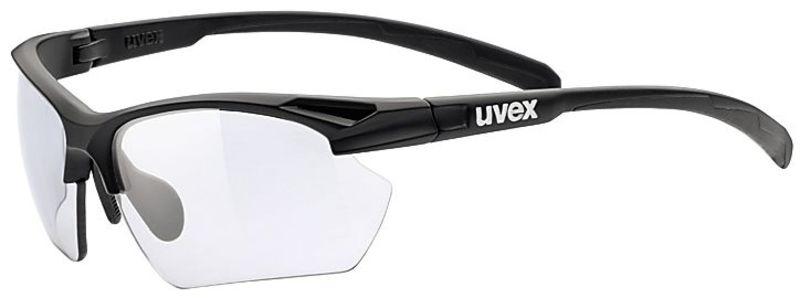 Sportovní brýle Uvex Sportstyle 802 Small Vario, Black Mat (2201)