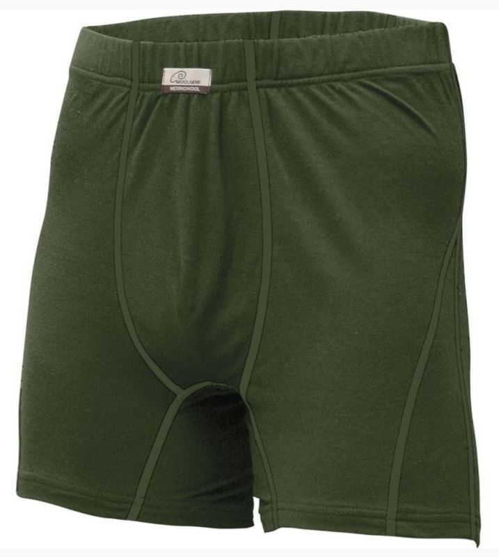 Vlněné boxerky Lasting Nico 6262 zelená