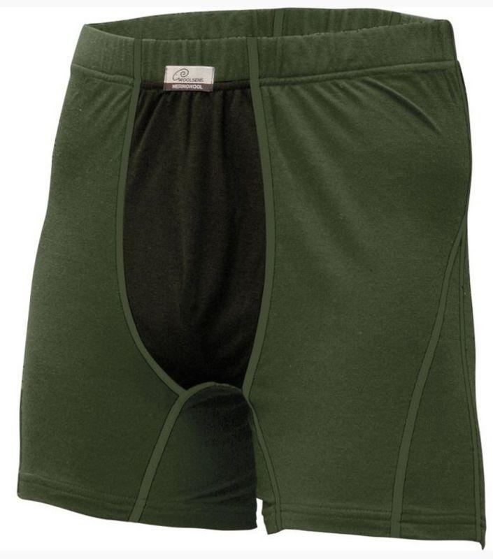 Vlněné boxerky Lasting Nico+ 6290 zelená
