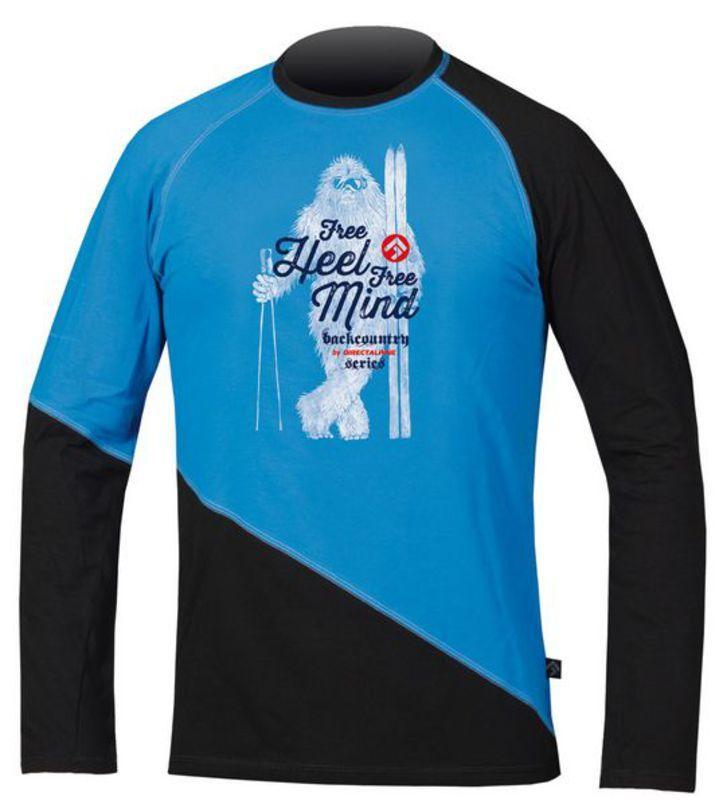 Tričko Direct Alpine BCS Shirt 1.0 blue/black (yetti)