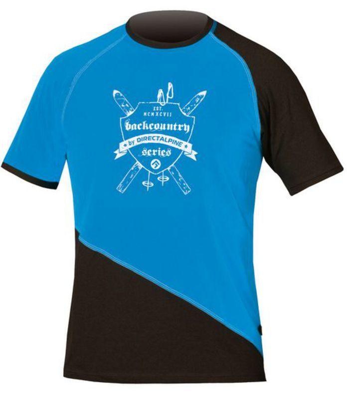 Tričko Direct Alpine BCS Shirt 1.0 blue/black (erb)