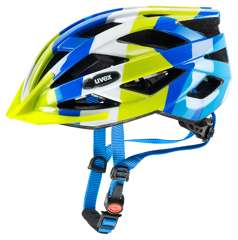 Helma Uvex Air Wing - Blue Green