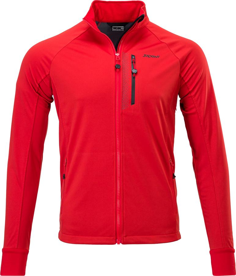 Pánská sportovní bunda Silvini Anteo MJ1743 red-black L