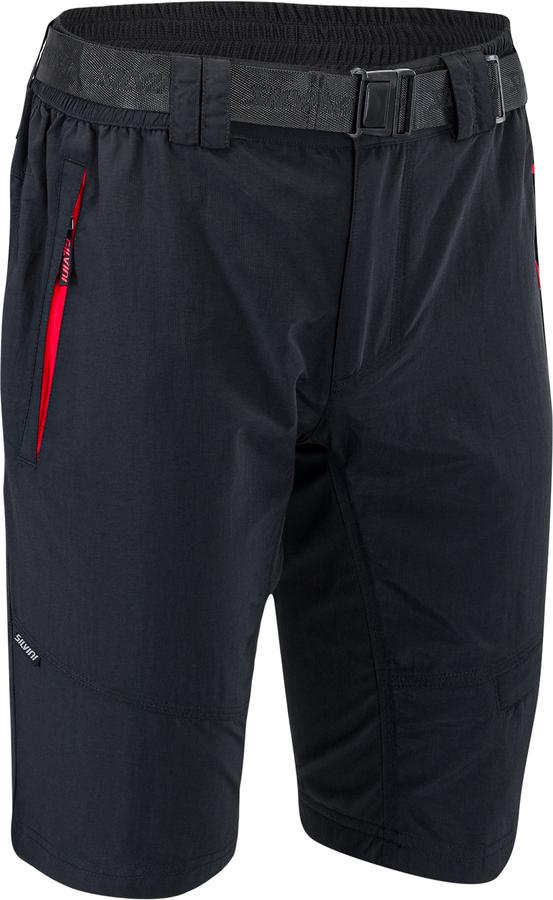 Pánské MTB cyklistické kalhoty Silvini Rango MP1616 black-red