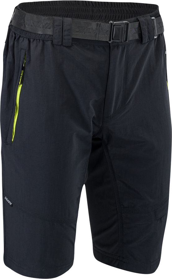Pánské MTB cyklistické kalhoty Silvini Rango MP1616 black-lime