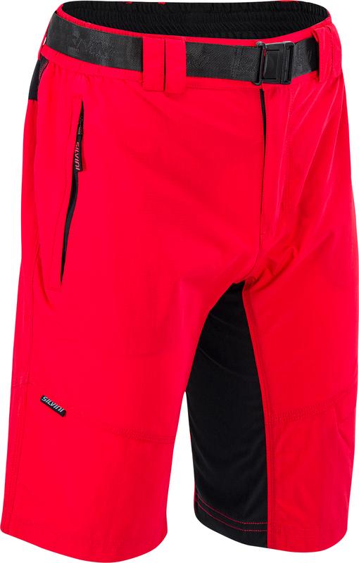 Pánské MTB cyklistické kalhoty Silvini Rango MP1616 red