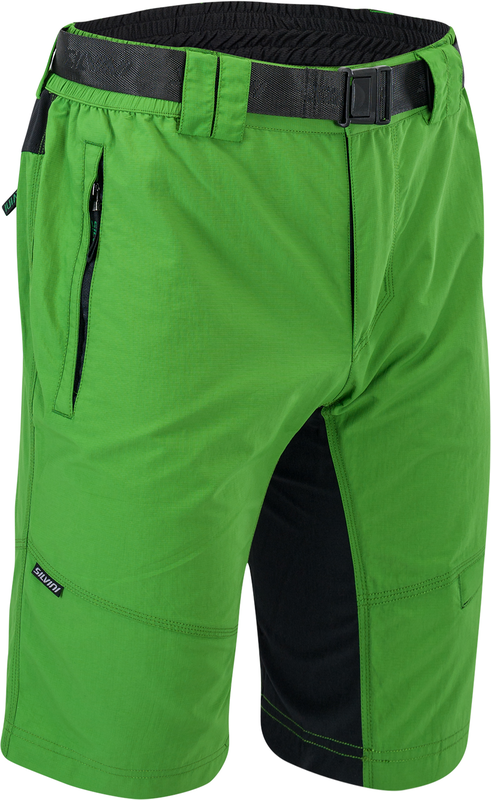 Pánské MTB cyklistické kalhoty Silvini Rango MP1616 forest-black