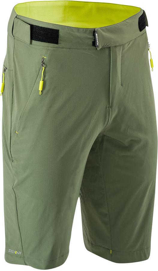 Pánské MTB cyklistické kalhoty Silvini Meta MP1662 olive