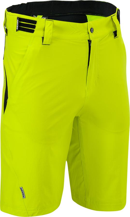 Pánské MTB cyklistické kalhoty Silvini ELVO Elvo MP809 lime