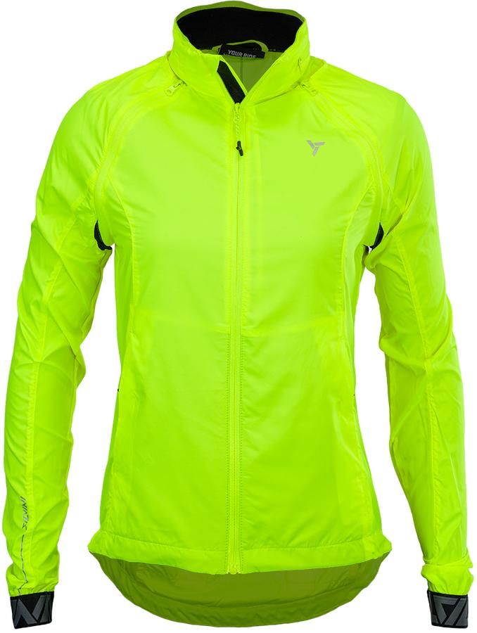 Dámská sportovní bunda Silvini Vetta WJ1623 neon