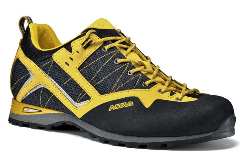 Boty Asolo Magix MM black/yellow 562