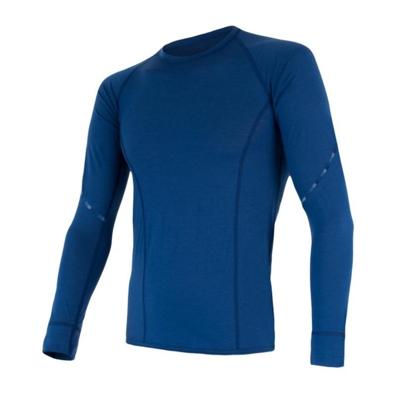 Pánské triko Sensor MERINO AIR tmavě modré 17200006