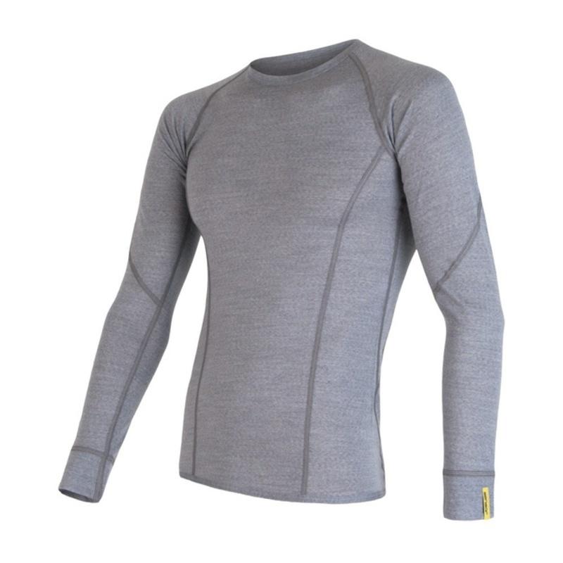 Pánské triko Sensor Merino Wool Active šedá 17200020