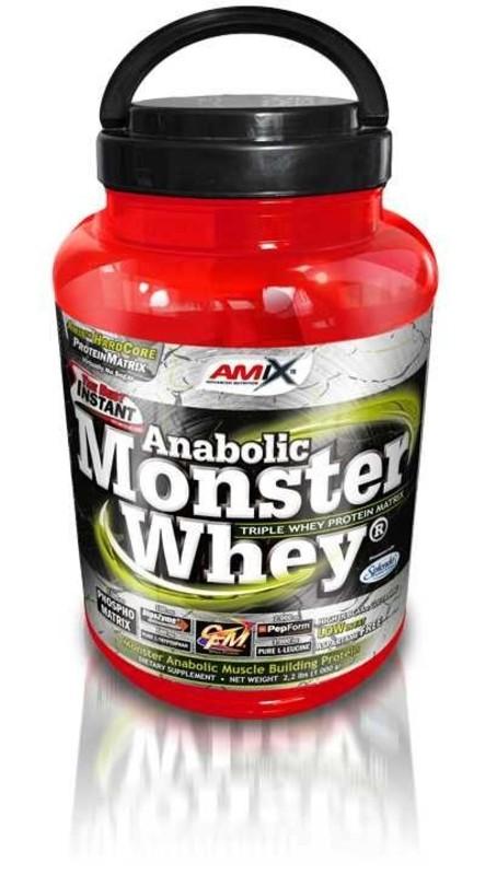Amix Monster Whey® - Jahoda-banán