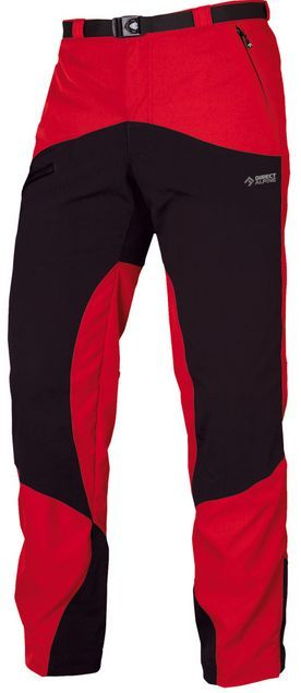 Kalhoty Direct Alpine Mountainer 4.0 Red/Black New Logo