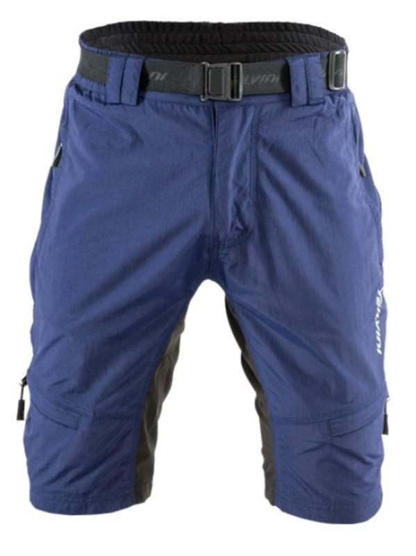 91b52b54b73 Pánské MTB cyklistické kalhoty Silvini Rango MP857 navy-lime ...