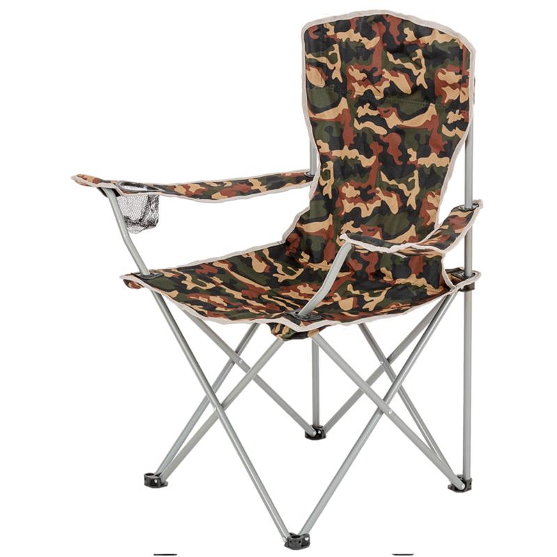 Skládací židle s opěrkami HIGHLANDER MORAY maskáč