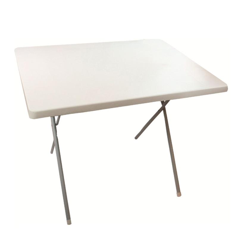 Skládací stolek HIGHLANDER Bílý velký
