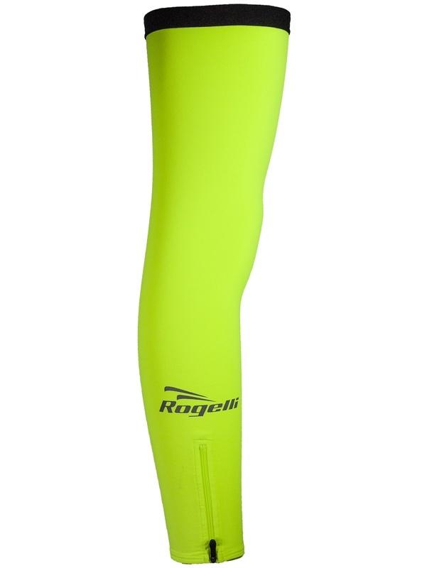 Cyklistické návleky na nohy Rogelli, reflexní žluté 009.018