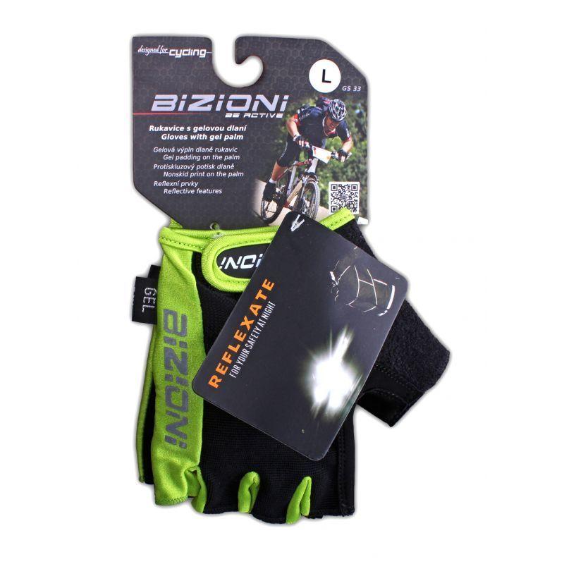 25c06aae42 Cyklistické rukavice Lasting s gelovou dlaní GS33 609 - GAMISPORT.cz