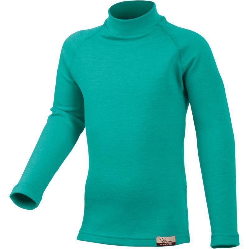 Merino triko Lasting SONY 6565 zelené vlněné
