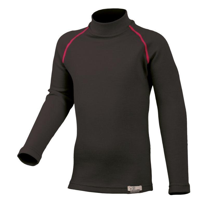 Merino triko Lasting SONY 94P černé vlněné