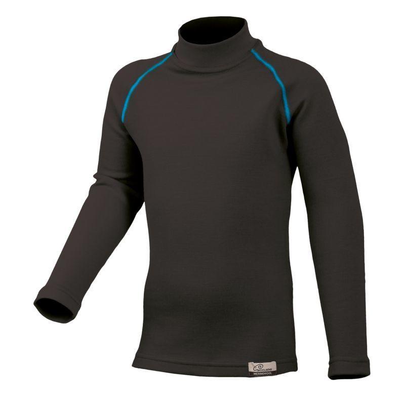 Merino triko Lasting SONY 95P černé vlněné
