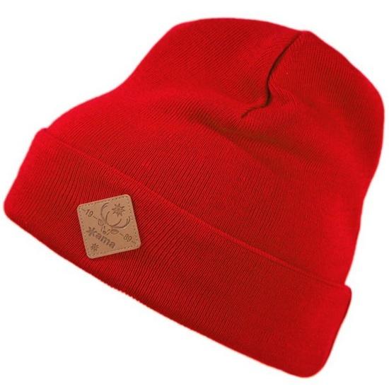 Čepice Kama K50 104 červená