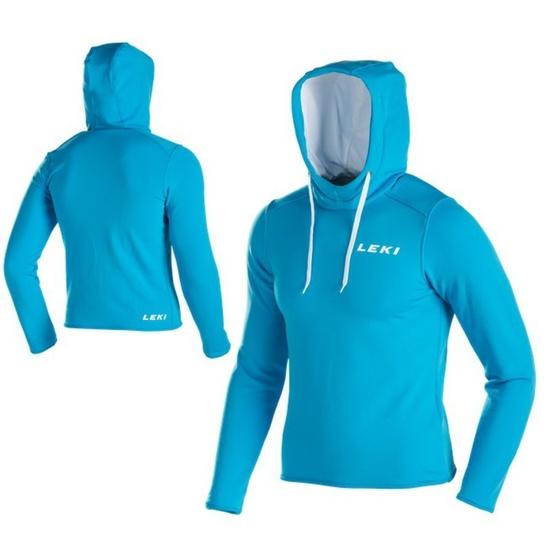Mikina Leki Hoodie men 34402 modrá XL