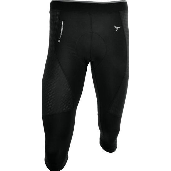 Pánské 3/4 cyklistické kalhoty Silvini FORTORE MP1005 black
